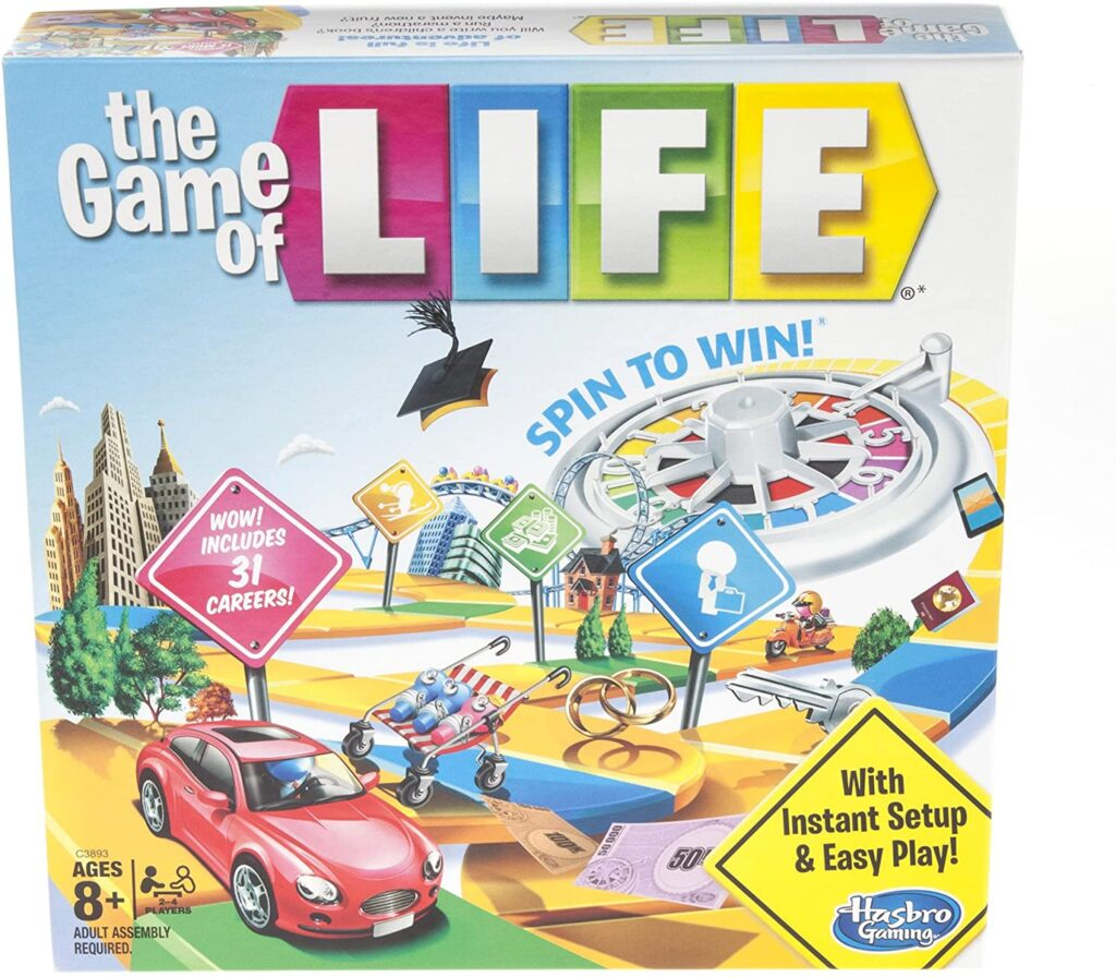 Gaming The Game of Life Board Game