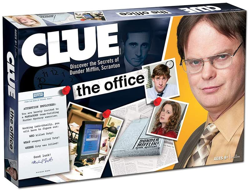 Hasbro CLUE, The Office Edition Board Game