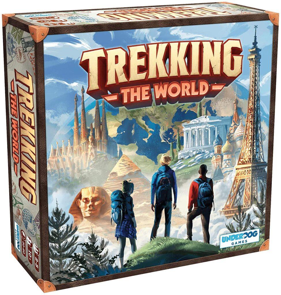 Trekking The World - The Globetrotting Board Game