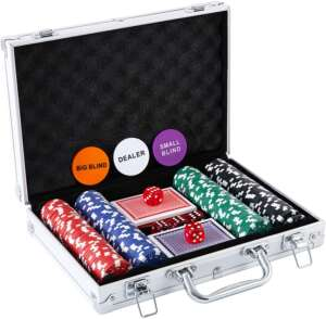 Homwom Casino Poker Chip Set
