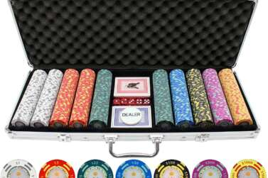 Best Poker Chips – Cheap Clay Set For a Home Casino Experience
