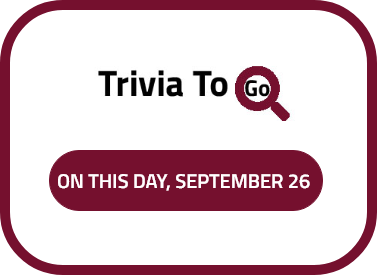 On this day in history, September 26